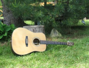 Jennings D28H acoustic guitar