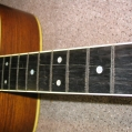 Dry & Cracked finger board . Pic 5