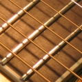 Repaired cracked finger board & New Frets. Pic 7